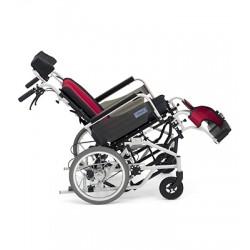 日本MIKI  仰臥式高背輪椅 坐位/靠背角度可調較